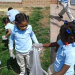 #therealbaltimore PreK cleaning up our community...we care and share
