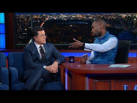 DeRay McKesson on Stephen Colbert