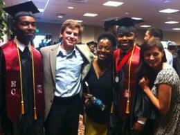 Matt graduate