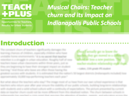 Teach Plus report card