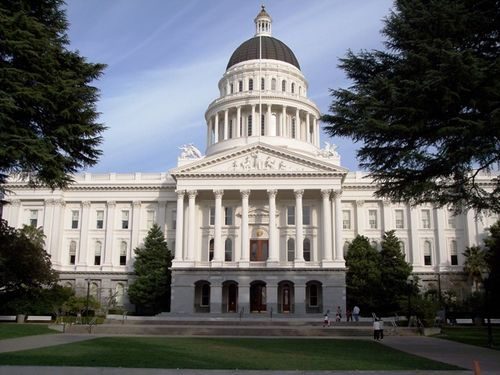 California's State Capitol Building.
