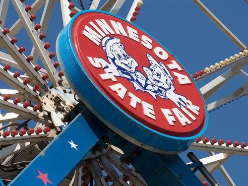 Minnesota State Fair ferris wheel.