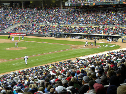 Catch a Twins game in the heart of downtown Minneapolis.