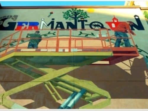 A mural in the Germantown neighborhood of Nashville, TN.
