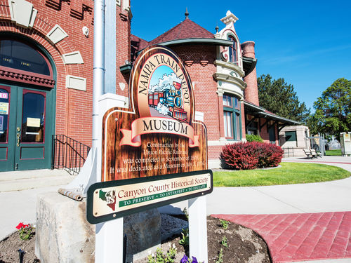 Idaho-Nampa-Train-Depot-Museum