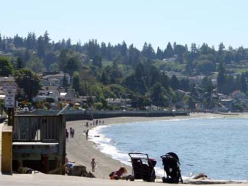 The Puget Sound coast in Federal Way