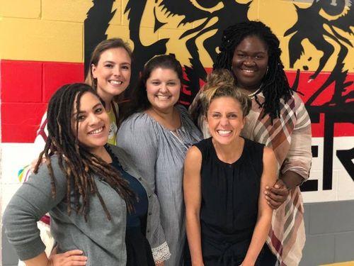 Teach For America Jacksonville alumni gather for the inaugural alumni orientation.