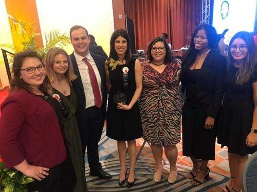 TFA Miami-Dade Group at Rookie Teacher/Teacher of the Year Awards
