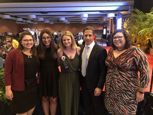Teachers of the Year with Superintendent Carvalho