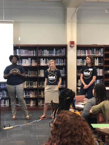 Fellow TFA Jacksonville alumni helped facilitate sessions during the event.