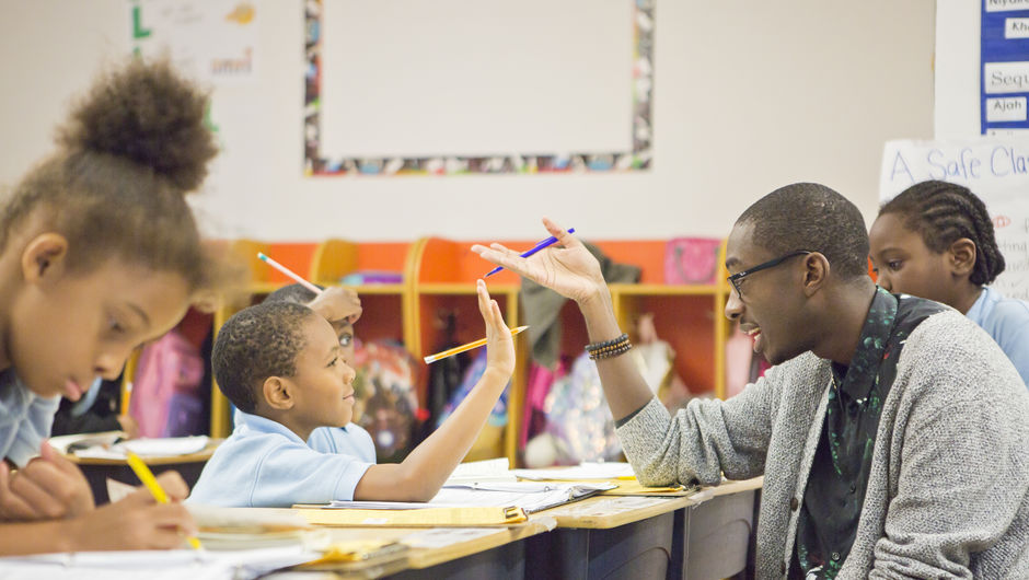 Jonathan Hogue's D.C. classroom