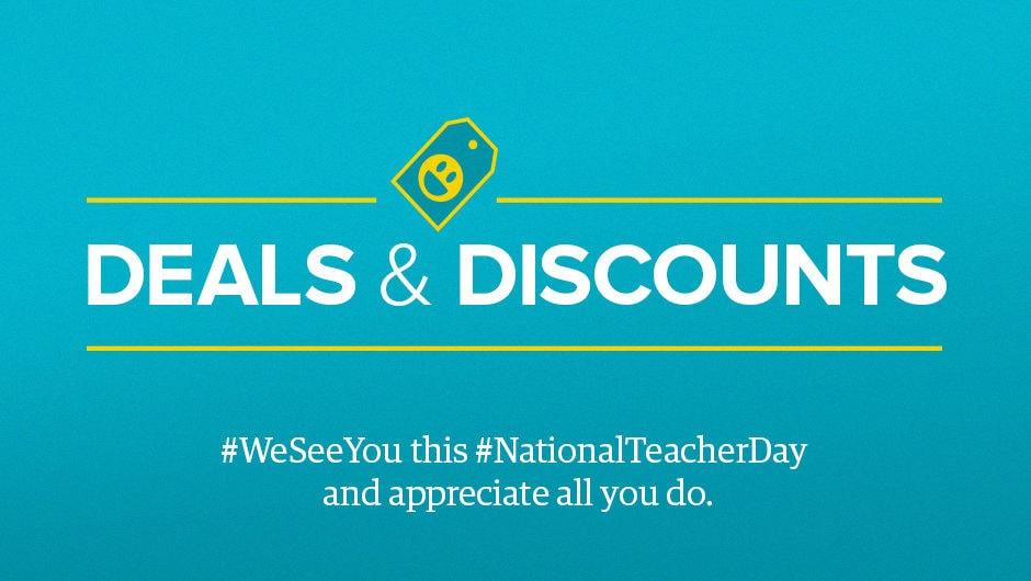 98257d5f788 Free Stuff! Deals & Discounts for Teachers | Teach For America