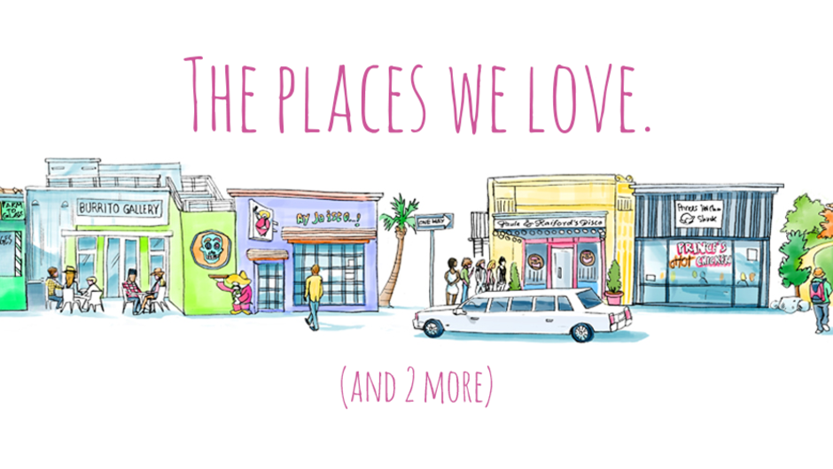 The places we love