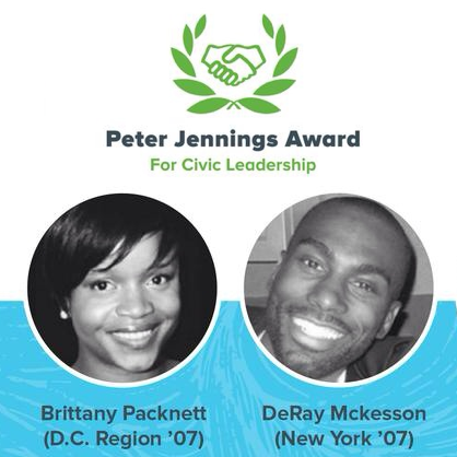 Honoring the 2015 Peter Jennings Award for Civic Leadership Finalists and Winners