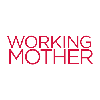 "Bright pink text that reads ""Working"" on the first line and ""Mother"" on the second"