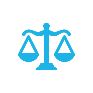 A scales icon.