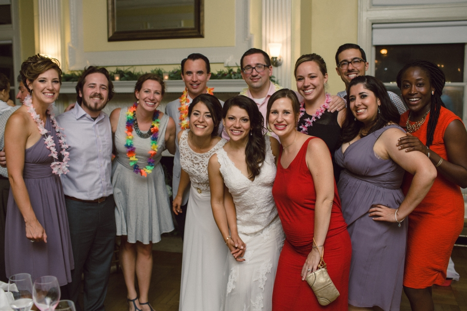 Two Teach For America alumni who met at institute at their wedding.