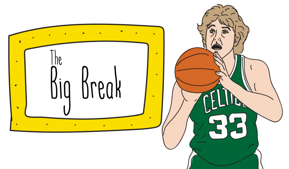The big break, Larry Bird illustration