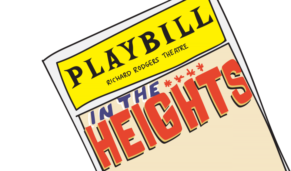 The Heights playbill illustration