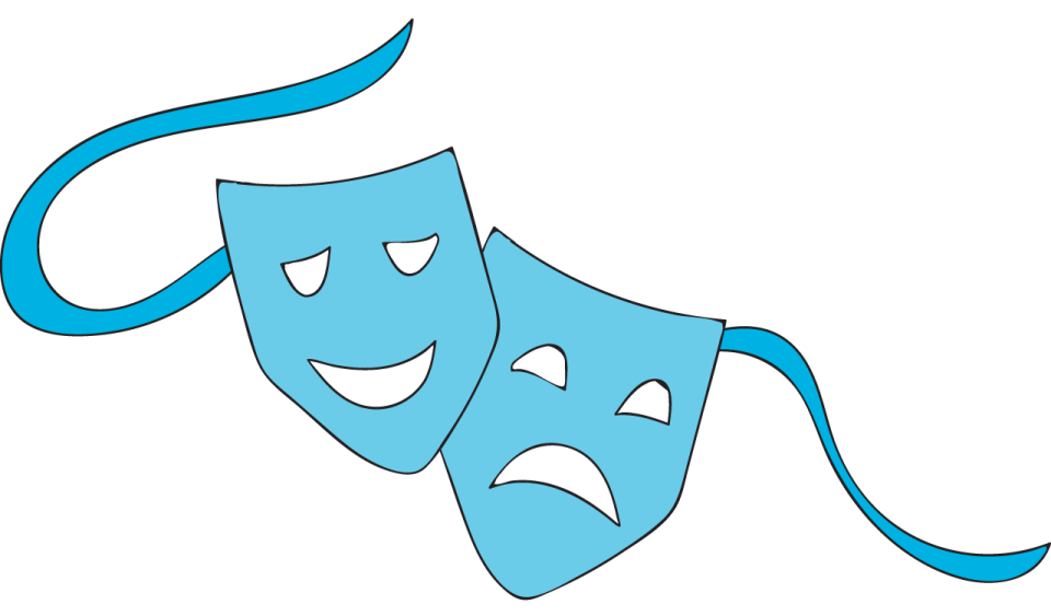 Comedy and drama masks