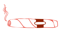 Illustration of a cigar.