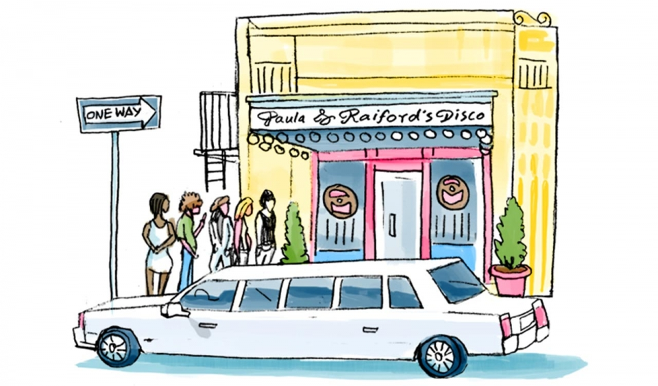 An illustration of a shop
