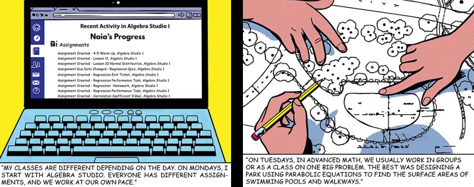 A comic strip