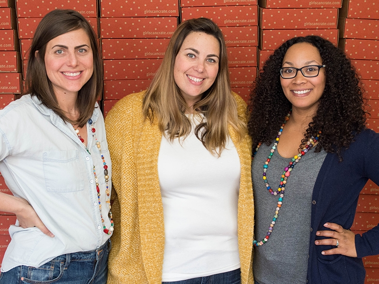 GIRLS CAN! CRATE co-founders