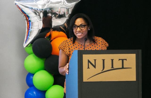 Barbara Dixon-Neal addresses partners at the SWCA Promise Neighborhood kick-off event