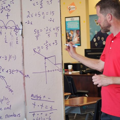 To Overcome Math Anxiety, Take Math First