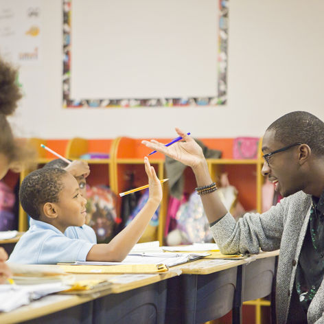A D.C. Corps Member Who Infuses Joy and Identity in His Classroom