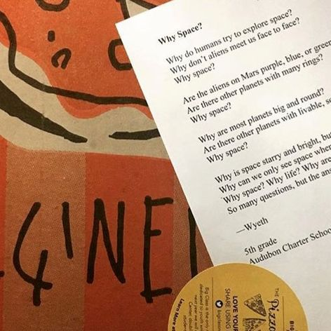 Delivering Poetry With Pizza In New Orleans