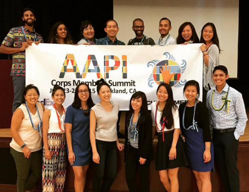TFA Alumni and Corps Members at the annual AAPI Summit