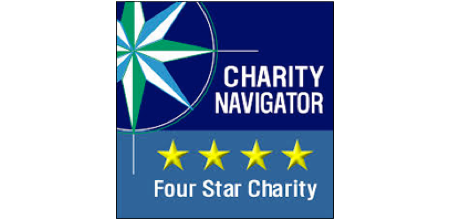 We're proud of our Charity Navigator rating