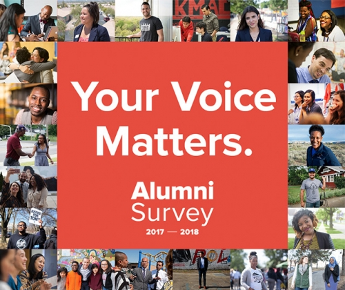 Take the Alumni Survey today!