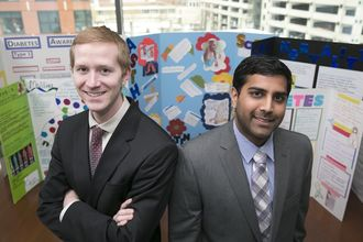 Co-founders of MERIT, a social venture founded by three TFA Baltimore alumni.