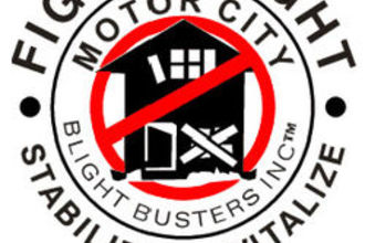 Motor City Blight Busters logo.