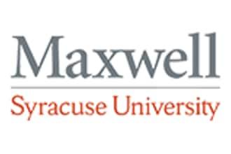 Logo of Syracuse University Maxwell School of Citizenship and Public Affairs