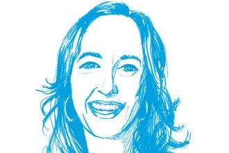 An illustration of Elizabeth Bagley smiling