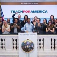 Teach For America New York Stock Exchange Opening Bell