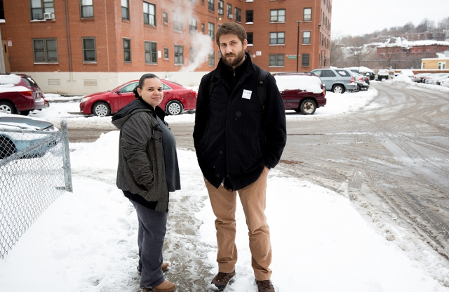 Diana Garcia and Eric Leslie, Union Capital Boston