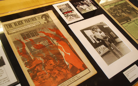 A collection of press clippings about the Civil Rights movement.