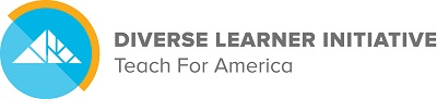 "A rectangular logo with an image of a mountain, and text reading ""Diverse Learner Initiative."""