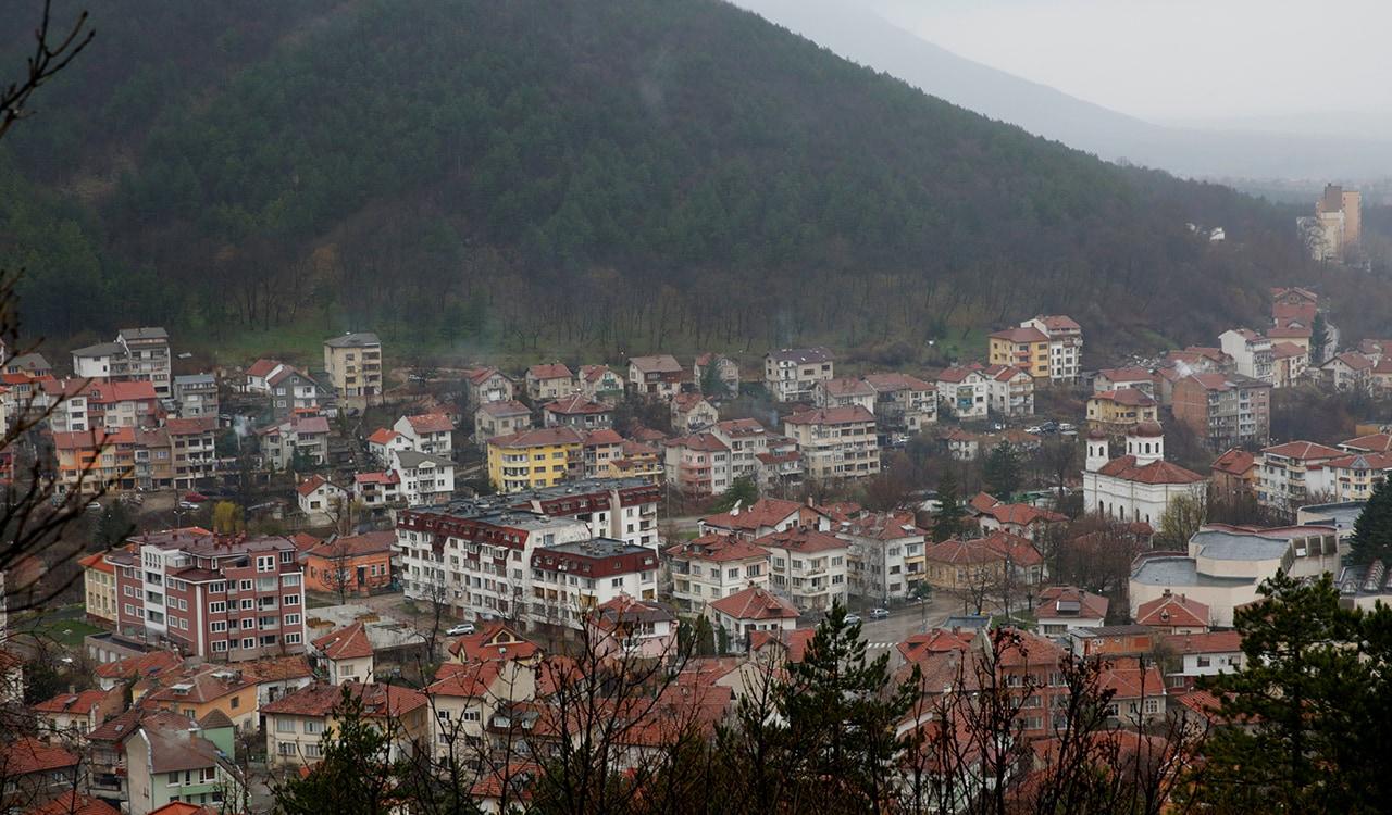 A town in Bulgaria