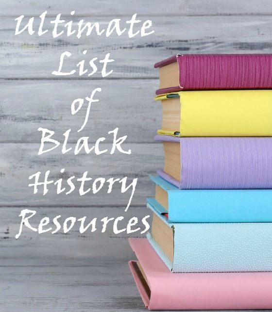 black history month resources