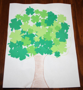 shamrock-tree-craft